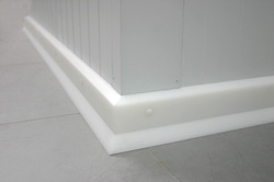 Protective Sanitary Plinth