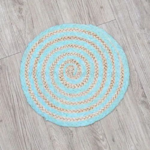 Woven Round Table Mats Jute Placemats, Place Mats For Round Table