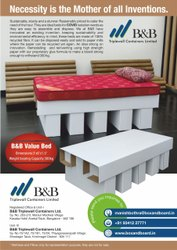 Corrugated Bed For Covid Patients