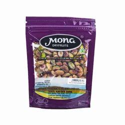 Mona Green Pistachios, Packaging: 100 & 250 g