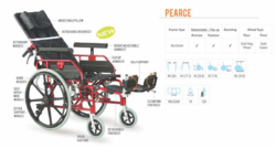 Pearce Premium Reclining Wheelchair