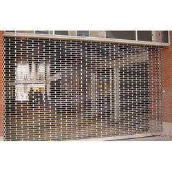 MS Grill Type Rolling Shutters