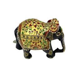 Wooden Elegent Elephant