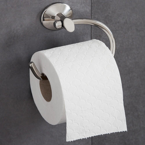 White Plain Toilet Tissue Paper Roll