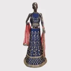 Navy Blue Heavy Work Fancy Lehenga