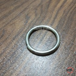25mm Mild Steel O-Rings Nickel