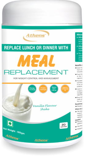 Athens Vanilla Meal Replacement Mango Flavour Shake