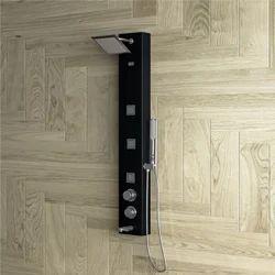 ARIEL Black Shower Panel