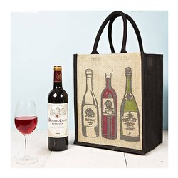 Open Closure Wine Packing Bag