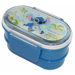 Clip Lock Lunch Box With Adjustable Partition - 2 Box
