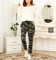 Cotton Ladies Army Pants