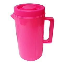 VB Pink Plastic Water Jug, Size: 2 Litre, for Hotel