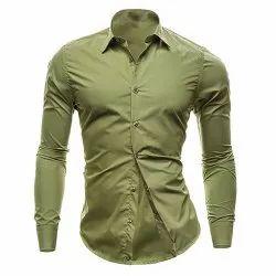 Cotton Full Sleeves Men Fashion Shirt