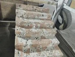 SGM Pink Stairs Granite Slab