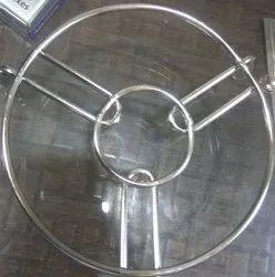 Free Standing Mild Steel Utensil Stand, For Household