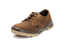 Brown Safety Shoes - BEN 01