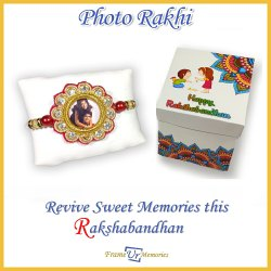 Rakhi with Photo