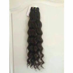 Curly Machine Weft Hair