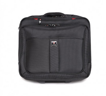 Black Plain LTB3 Trolley Bag, Size: Small