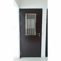 Galvanized Steel Decorative Safety Door, Size: 3 X 7 Feet