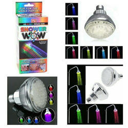 Stainless Steel 7 Color Changing LED Shower