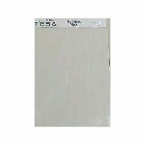 Highland Pine Action Tesa UV Coated panels, Size: 8'  x 4' , Thickness: 18 Mm