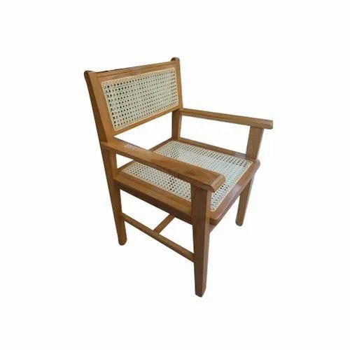 Teak Wood Wire Chair
