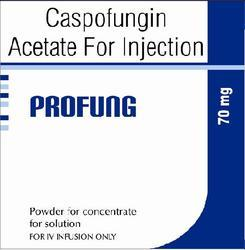 Caspofungin Acetate Injection