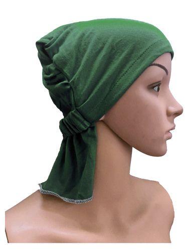 ab1b030c8be78 GIRRIJA Green cotton caps chemo beanies cancer caps women summer chemo caps  sleep turban for women