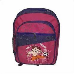 Parachute Fabric Printed Kids School Bag