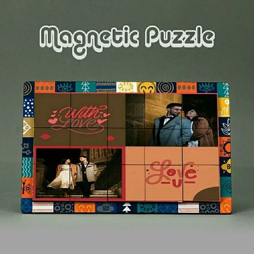 Magnet Puzzal With Fame Orignal Gift Items