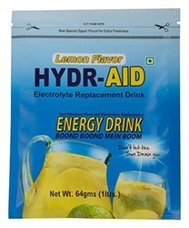 Hydr-Aid Electrolyte Replacement Drink, Pack Size: 64 Gm