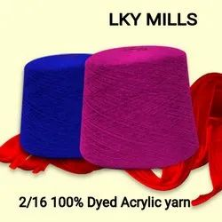 2/16 Dyed Acrylic Yarn