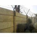 Prestressed Boundary Walls