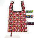 Multicolor Cotton Floral Printed Folding Bags
