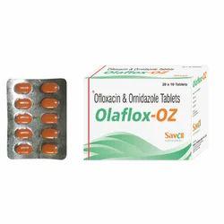 Ofloxacin & Ornidazole Tablets, 20x10 Tablets
