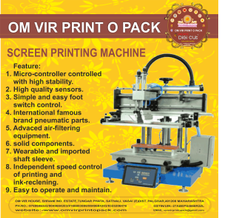 Screen Printing Machine and Allied Products