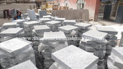 White Granites Paver