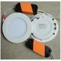 Sonix Cool Daylight 6w Round Panel Light, Ip Rating: Ip55