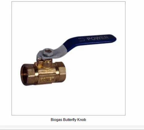 Biogas Butterfly Knob