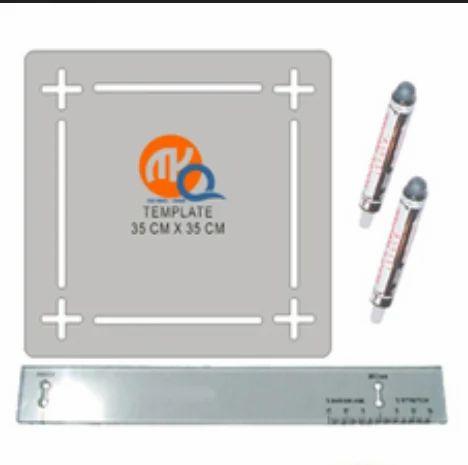 MY Q Shrinkage Template & Scale - My Q Instruments, Delhi