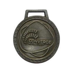 Silver Plated Medal
