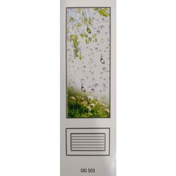 Standard White STAR PLASTIC PVC DOORS, For Bathroom