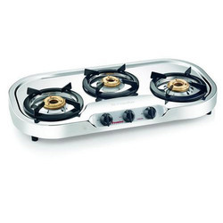 3 Burner Stainless Steel LPG Stove