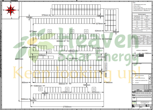 Cable Layout For Solar Power Plant (up To 50 Kw) in Mota
