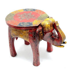 Animal Shaped Sitting Wooden Stool