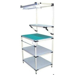 WIPL Light Duty Lean Pipe Workbench With LED