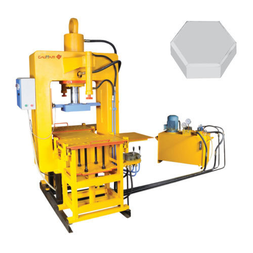 Tile Press Paver Block Making Machine