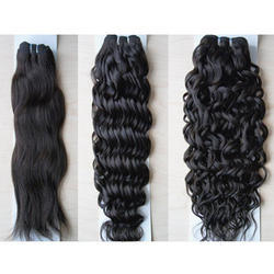 Non Remy Curly Hair Extension