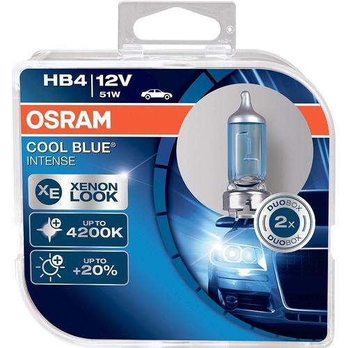 Osram HB4 9006 12V 51W Cool Blue Intense Duo Box
